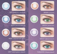 Линзы для глаз на 3 месяца контактные optima fw