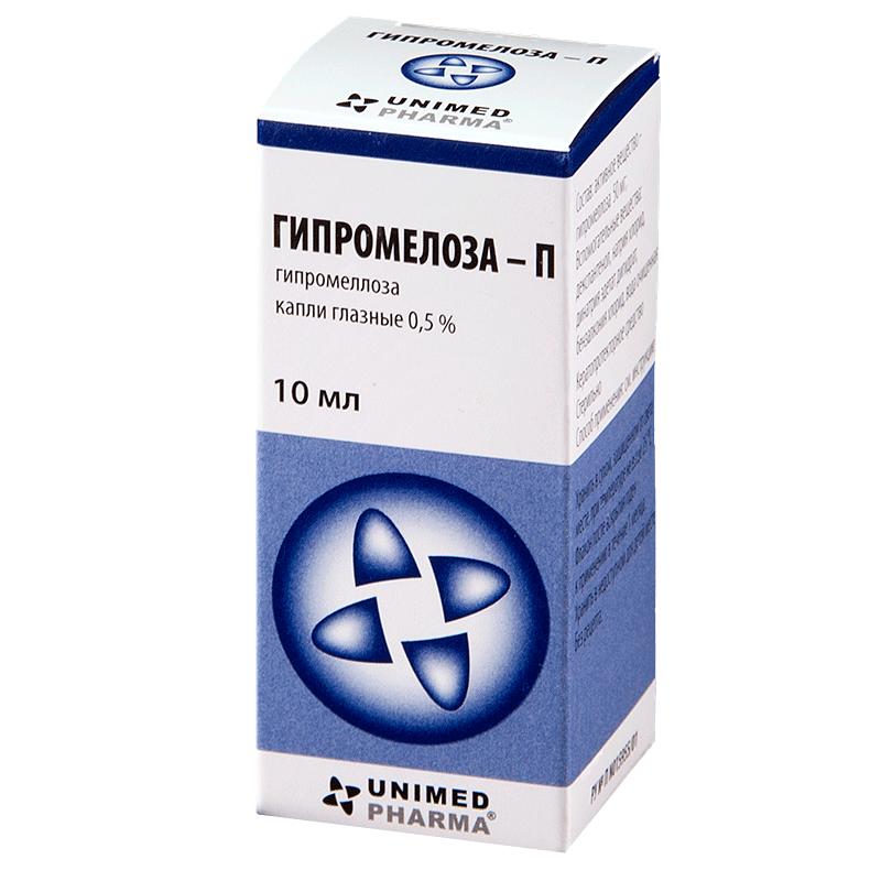 Гипромелоза-п капли глазные - инструкция, цена, отзывы