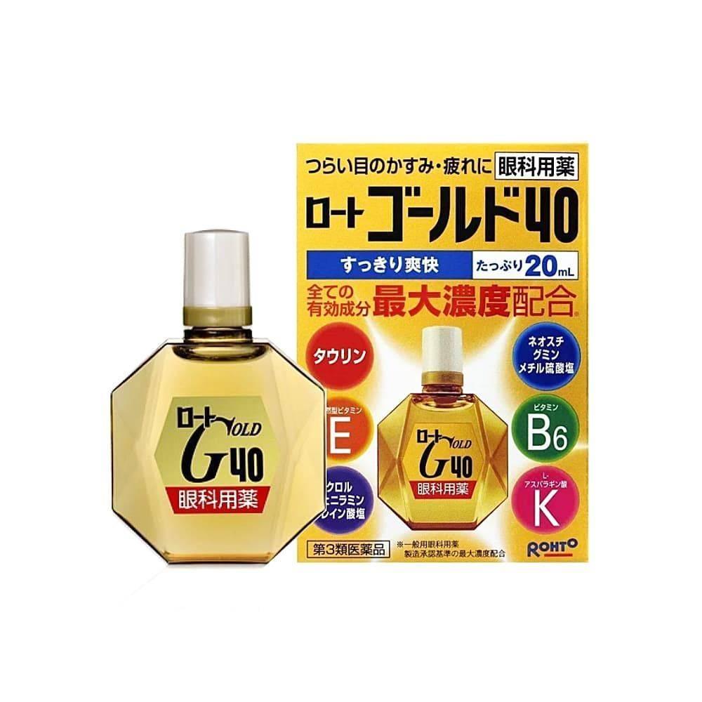 Капли для глаз с витаминами японского производства: обзор средств