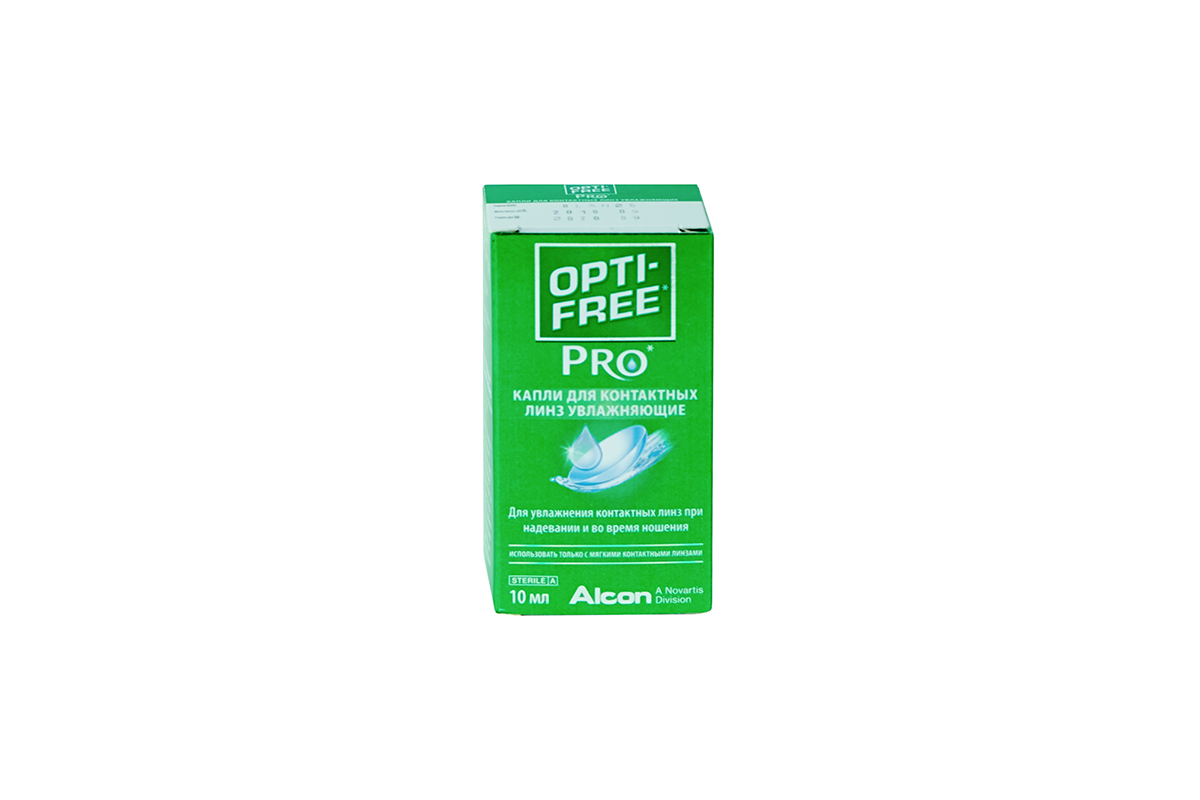 Инструкция по применению увлажняющих глазных капель опти-фри