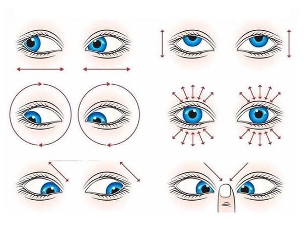 Гимнастика для глаз по аветисову – упражнения для детей и взрослых