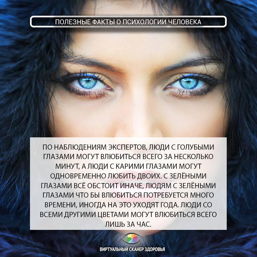Голубой цвет впсихологии