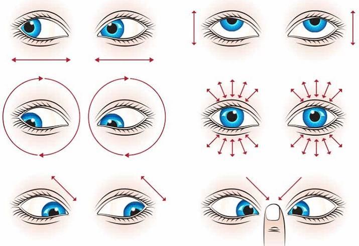 Упражнения для глаз для улучшения зрения при дальнозоркости, пресбиопии, у детей, гимнастика