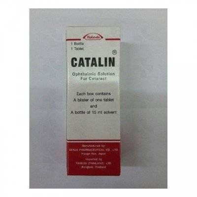 Глазные капли каталин – показания к применению и достойные варианты замены