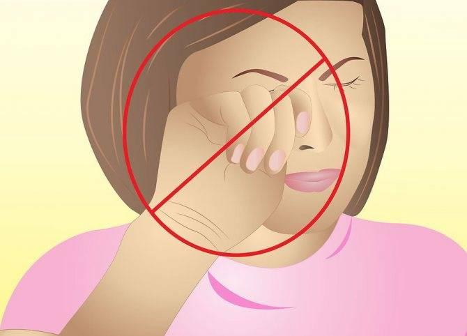 Что делать, если болят глаза при моргании и надавливании