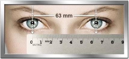 Какой линейкой изменяют роговицу: как узнать размер глаз для линз и диаметр изделий?