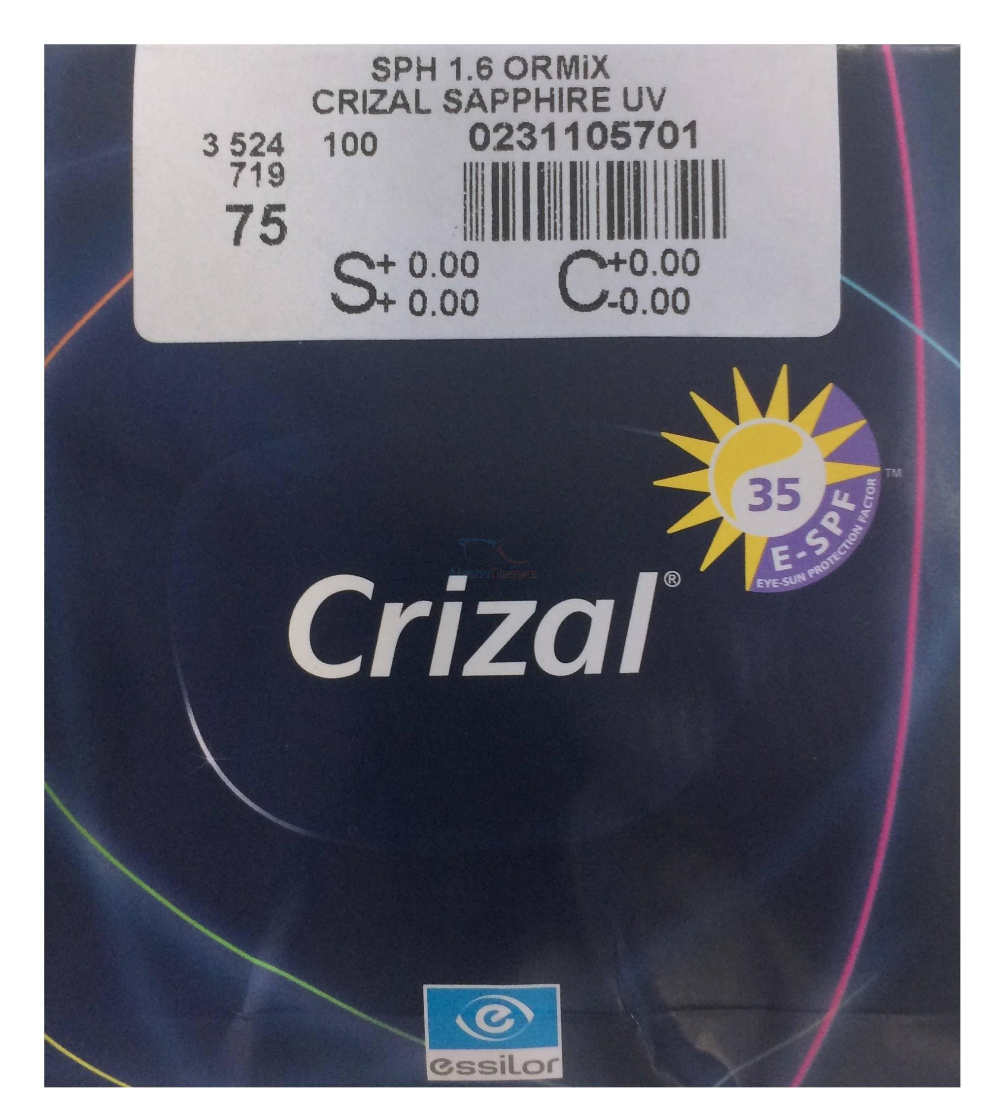 Линзы crizal