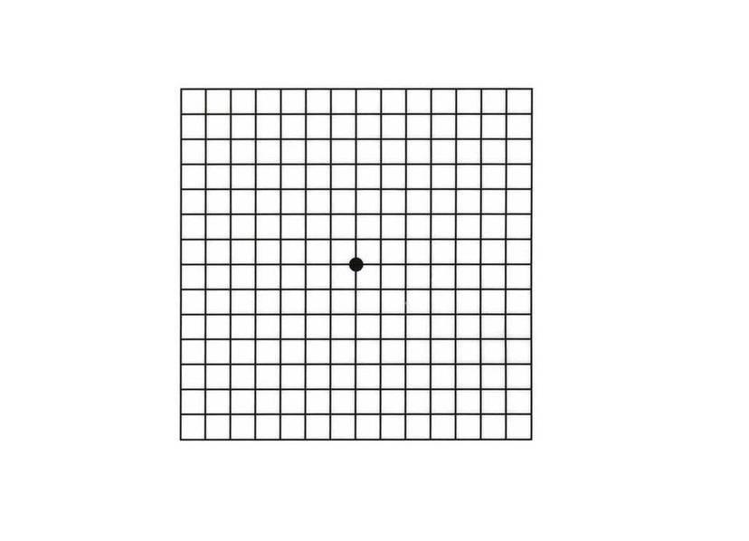 Тесты на проверку зрения
