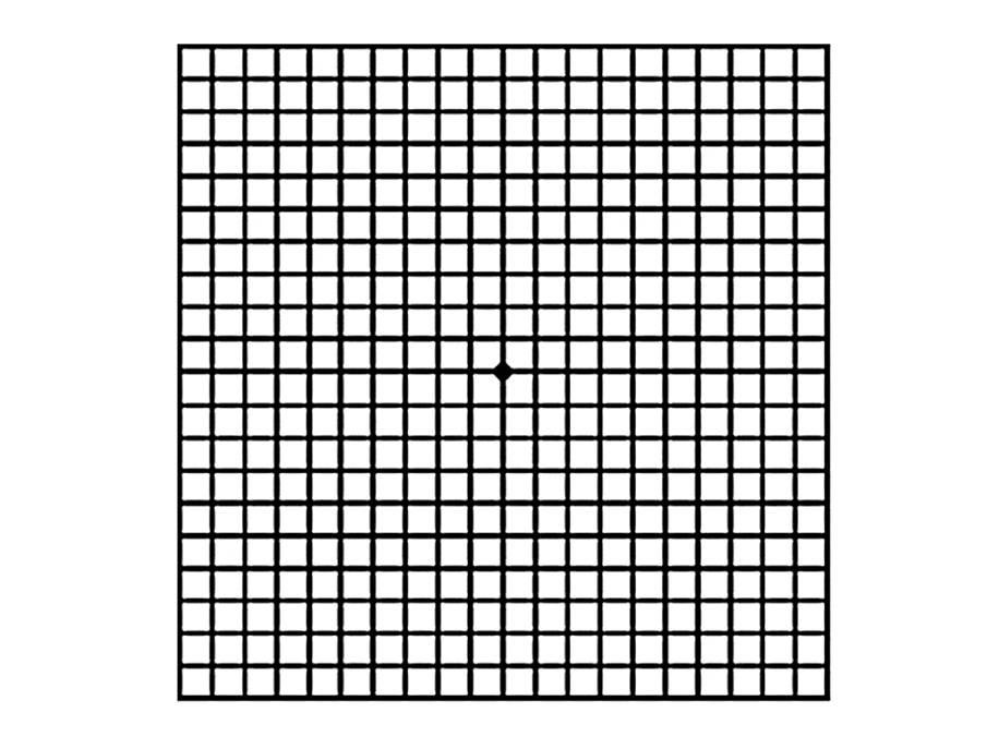 Тест амслера - 2 варианта сетки, пройти онлайн бесплатно!