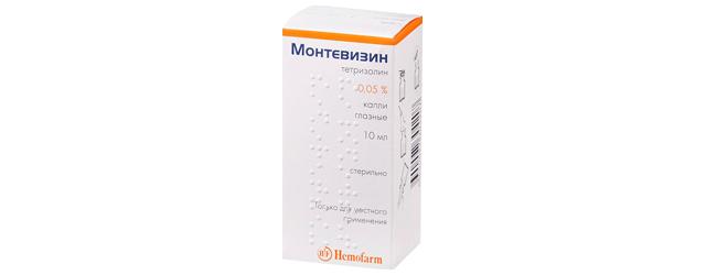 Монтевизин (глазные капли): инструкция по применению, цена, отзывы, аналоги, состав