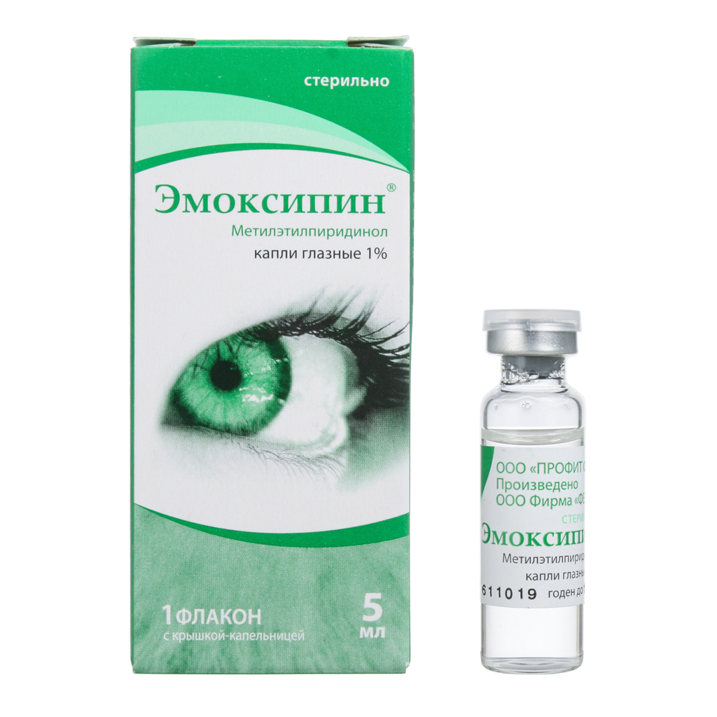 Для чего применяются глазные капли метилэтилпиридинол
