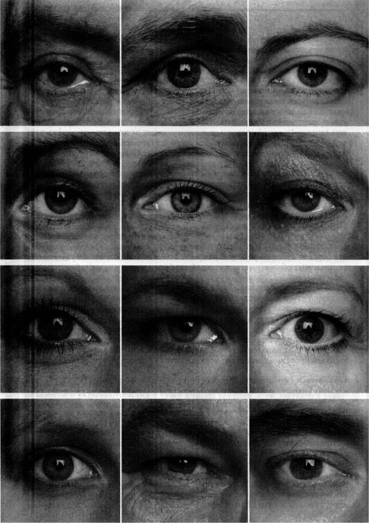 Типы глаз у человека