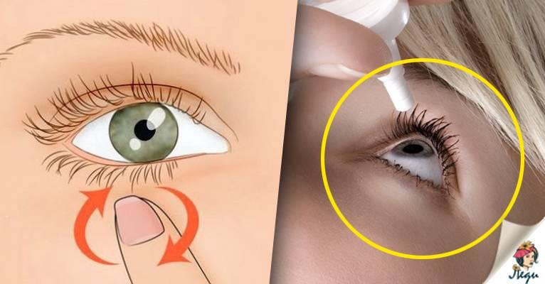 Почему дергается правый или левый глаз