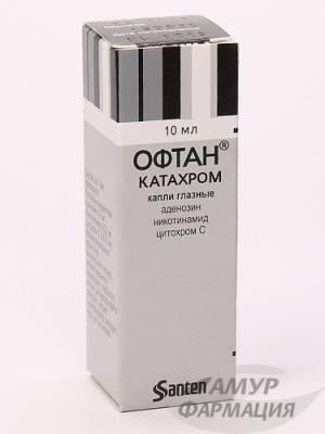 Офтан катахром— защита откатаракты: обзор препарата