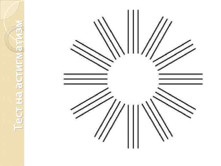 Тесты на астигматизм по картинкам на компьютере - проверка зрения в домашних условиях онлайн бесплатно у детей и взрослых