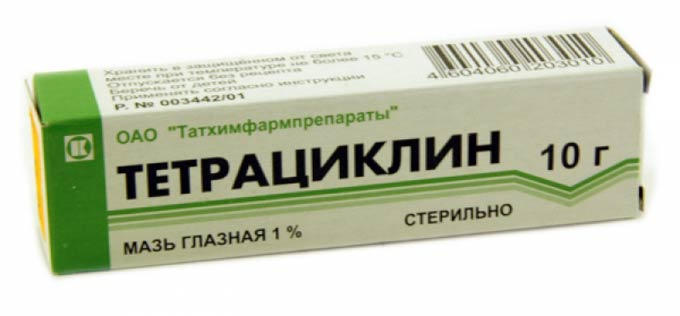 Беспощадно уничтожает воспаление — тетрациклиновая мазь от ячменя