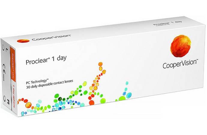 Линзы proclear и proclear 1 day