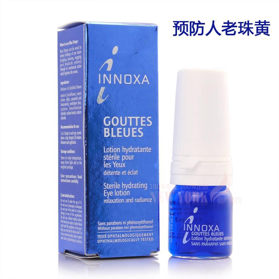 Голубые капли для глаз инокса (innoxa)