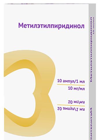 Инструкция по применению глазных капель метилэтилпиридинол