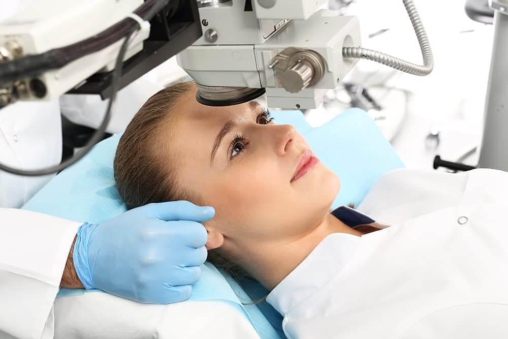 Восстановление после лазерной коррекции зрения