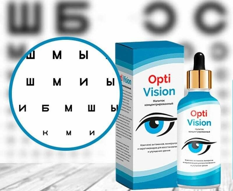 Описание препарата для глаз optivision