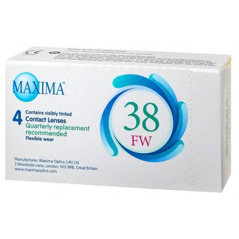 Maxima - обзор контактных линз