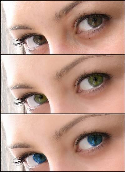 Как изменить цвет глаз в домашних условиях?