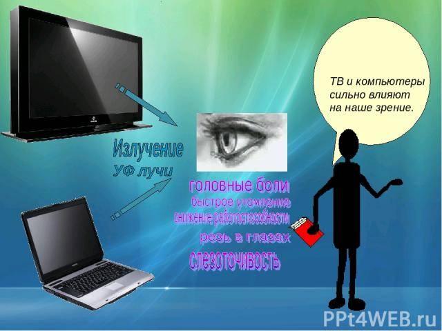 Причины близорукости - вредит ли зрению телевизор, телефон или другие гаджеты