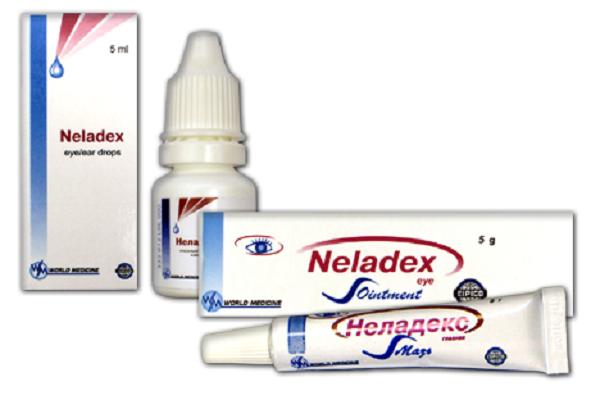 Неодекс капли для глаз, носа и ушей: инструкция, описание pharmprice