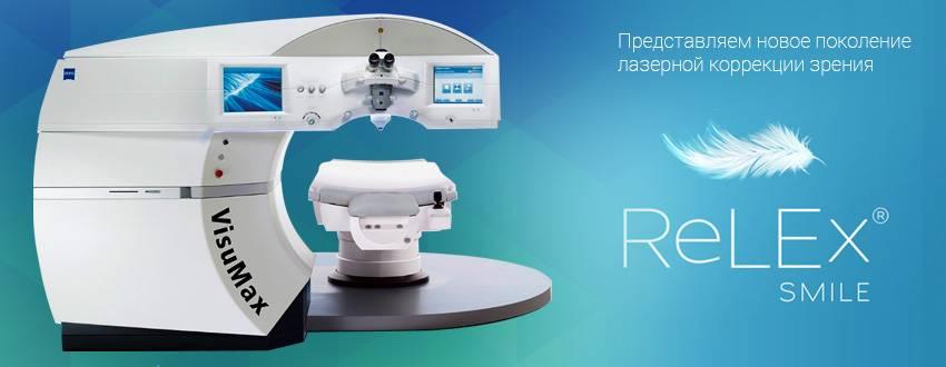 Relex smile (смайл) лазерная коррекция зрения - как проводят, последствия, отзывы