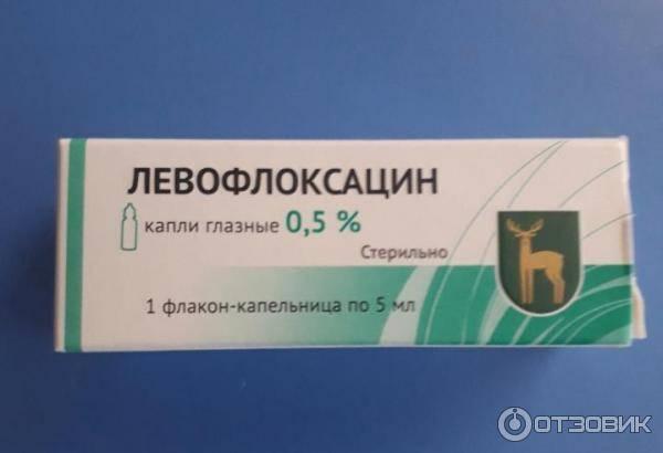 Левофлоксацин: капли глазные – цена, инструкция по применению