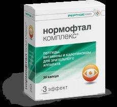 Витамины для глаз нормофтал