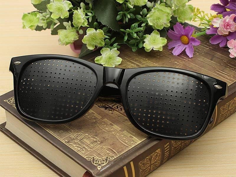 Перфорационные очки тренажеры для глаз — показания, как выбрать, применение