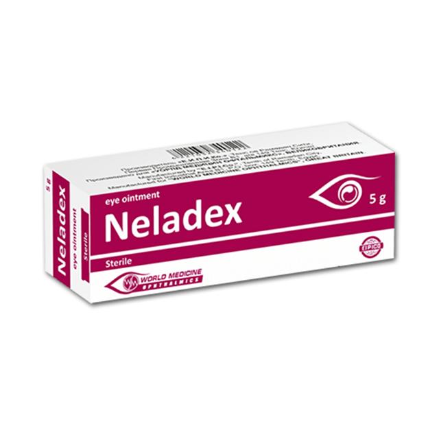Неладекс - глазные капли: инструкция по применению, аналоги