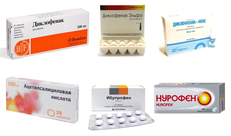 Аналоги диклофенака: мази, гели, таблетки, ампулы