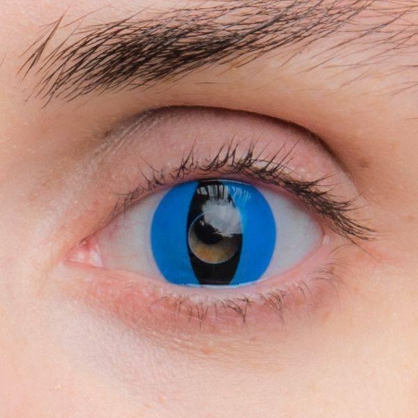 Склеры  черные линзы на весь глаз, обзор, цена
