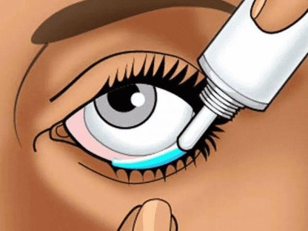 Как закладывать мазь в глаза - безопасный способ