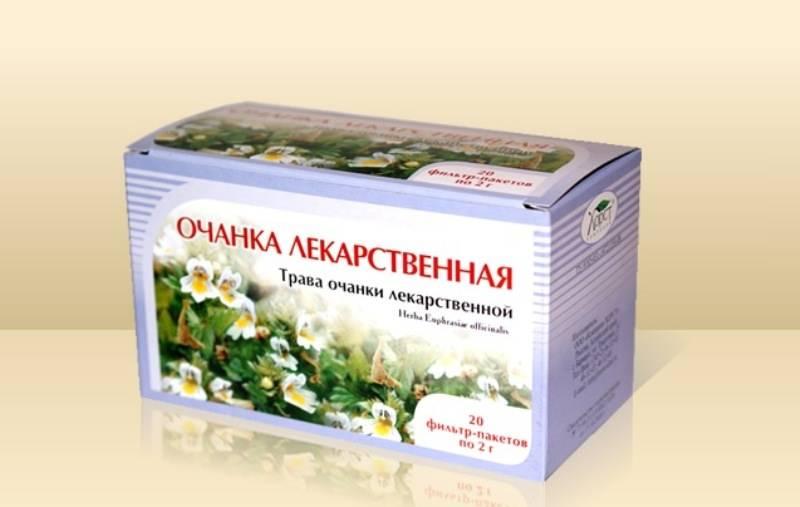 Лекарственные травы для улучшения зрения
