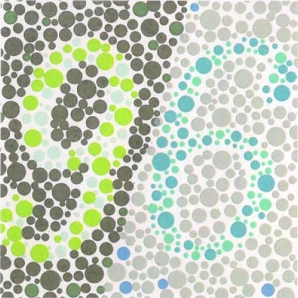 Обратный тест на дальтонизм: только дальтоники могут увидеть, что написано на картинке :: инфониак