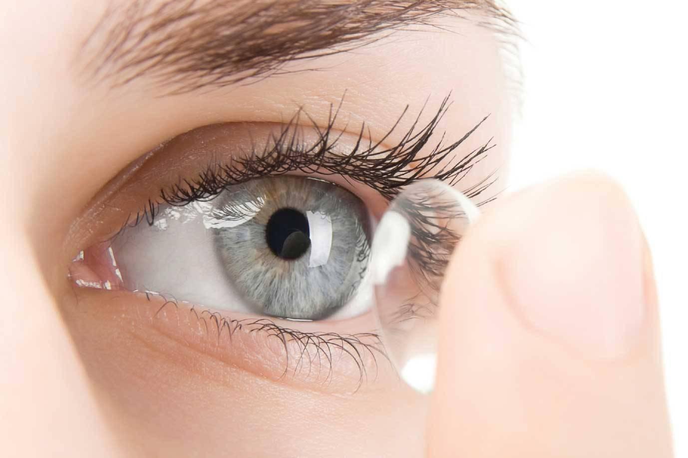 Почему линза съезжает - контактные линзы