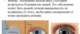 Что делать, если назревает ячмень на глазу? первые признаки и симптомы