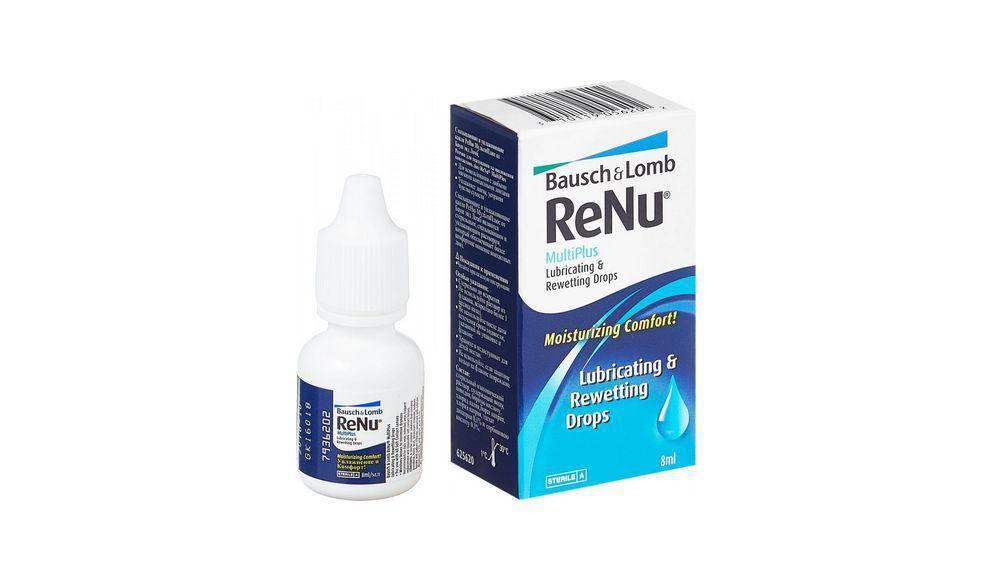 Renu - капли для глаз: инструкция, чем заменить
