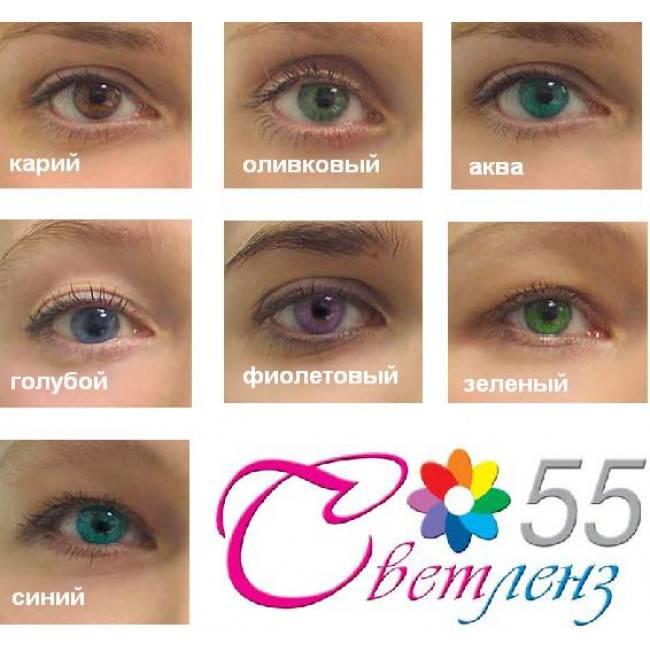 Оттеночные линзы: что это такое, контактные с диоптриями, однодневные зеленые acuvue, цветные акувью для глаз