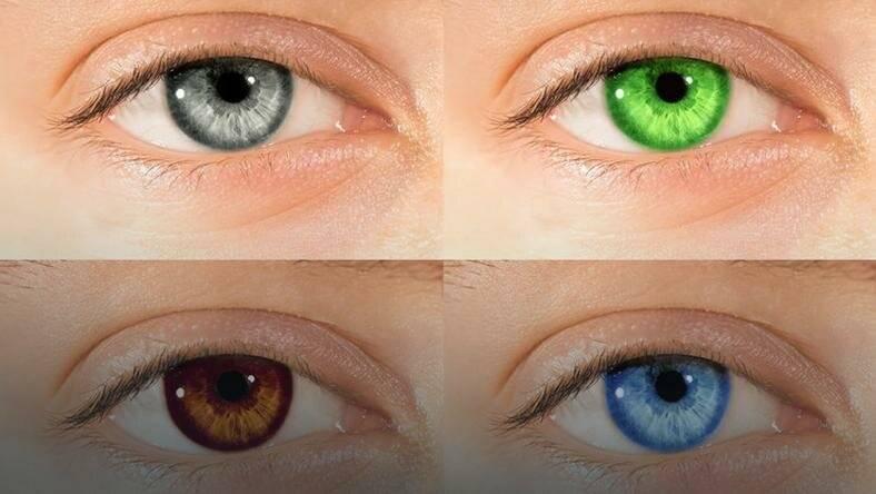 Как изменить цвет глаз (в фотошопе, без линз): все способы