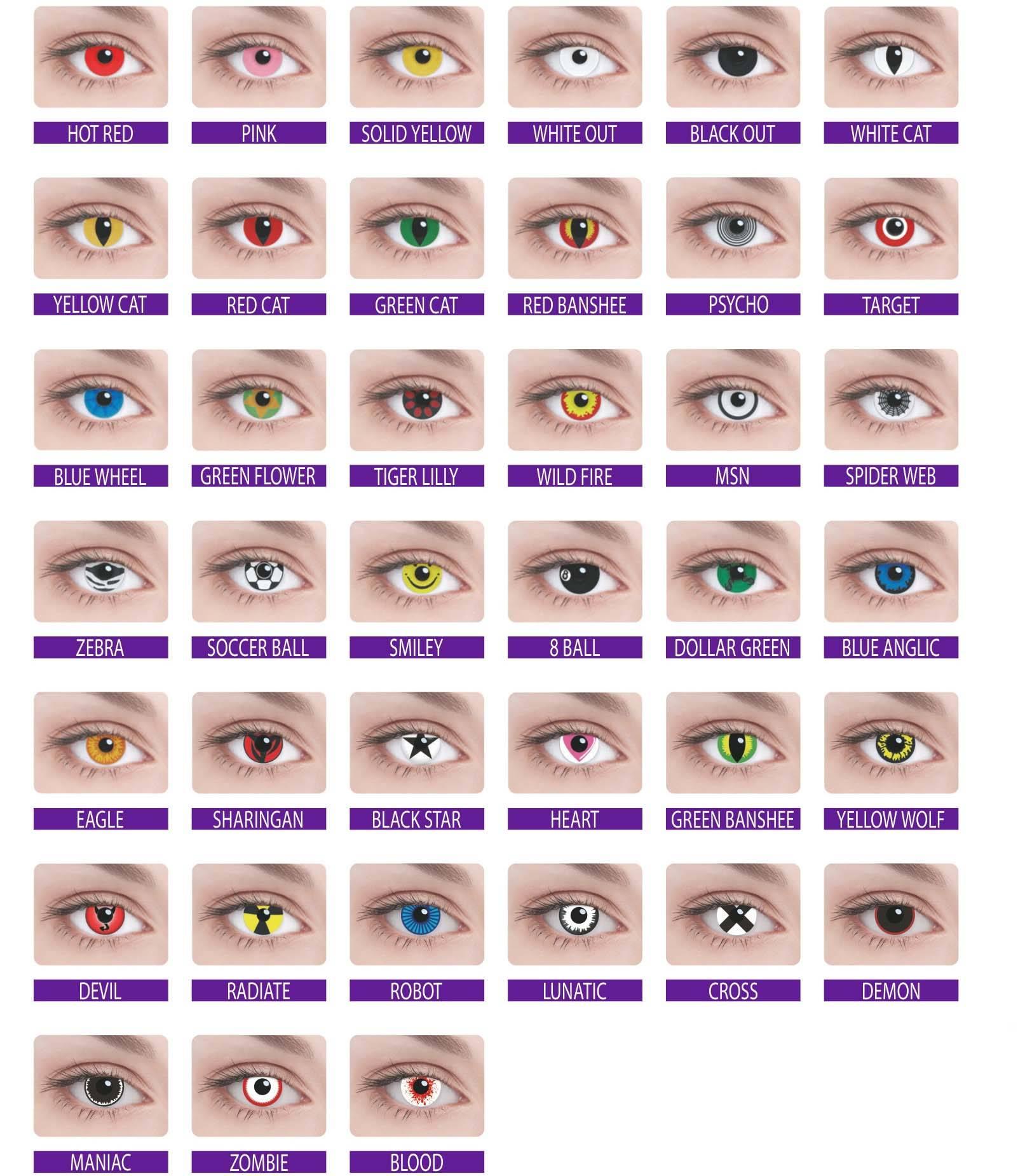 Линзы для карих глаз цветные – какие подойдут