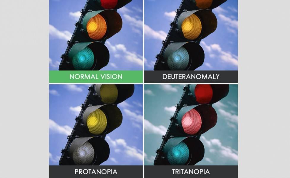 Какие цвета не различают дальтоники, формы и типы зрительной особенности, причины возникновения