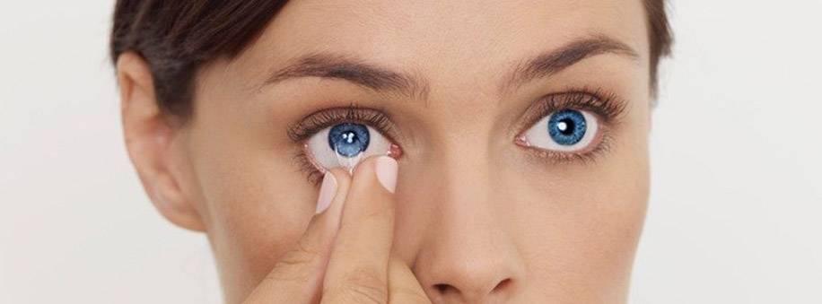 Может ли линза потеряться в глазу?