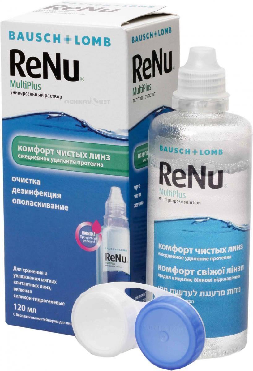 Комфортное ношение контактной оптики: особенности применения renu – раствора для линз