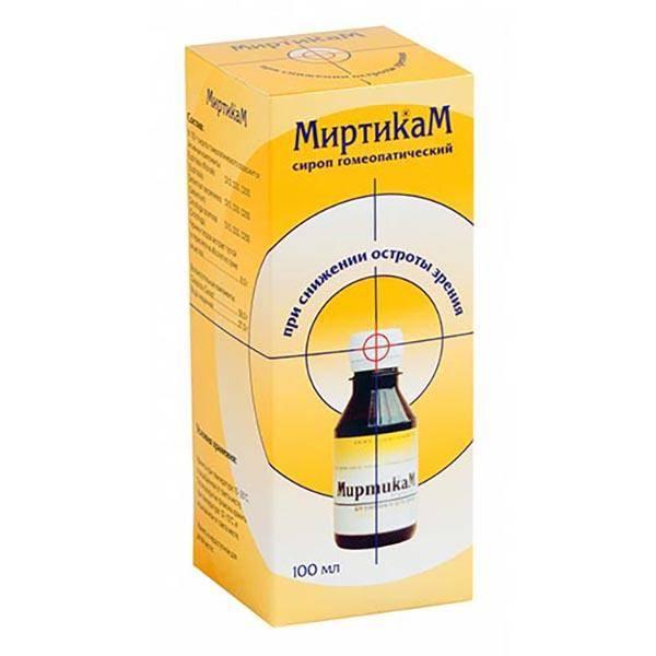 Миртикам: последние отзывы, инструкция к препарату сиропа и таблеток