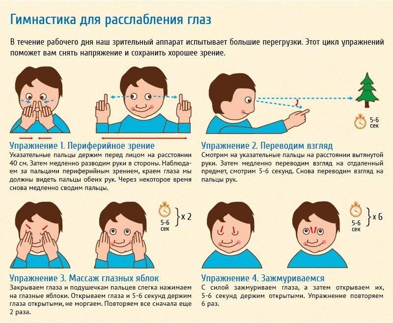 Гимнастика при глаукоме для глаз: упражнения и профилактика